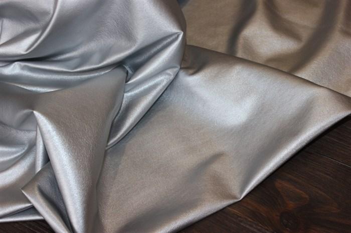 Кожа искусственная Серебро - фото 4780