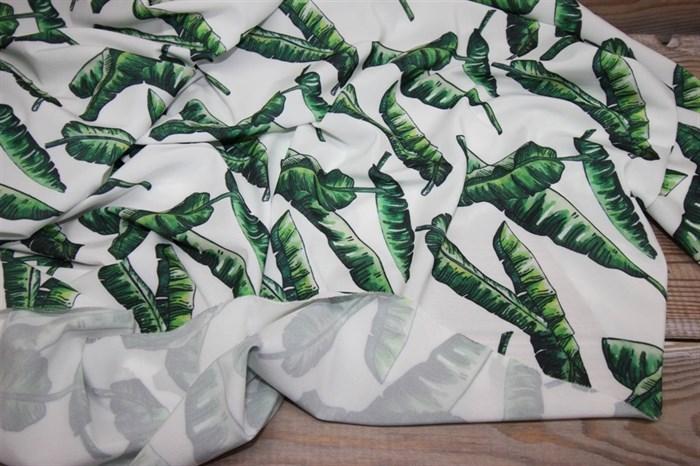 Ниагара Зеленые листья на белом - фото 6490