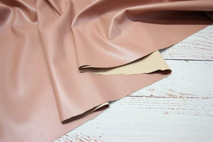 Кожа искусственная Розовый беж - фото 7348
