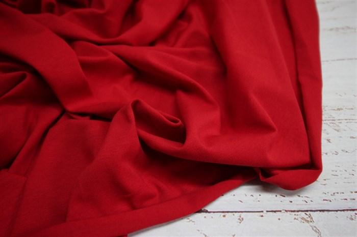 Кулирка с лайкрой Компакт Пенье плотность 160 гр Красный - фото 8239