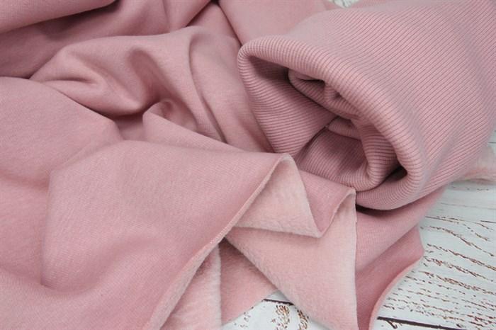 Футер мех Персик розовый - фото 9006
