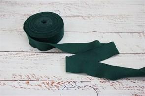 Бейка из рибаны Темно-зеленый 3,5 см / 9-10 метров